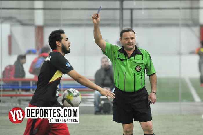 Arbitro New City-Deportivo Azul-Liga 5 de Mayo