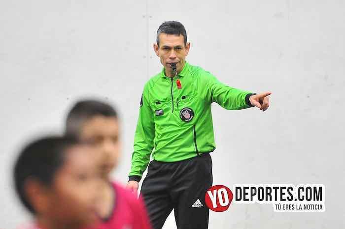 Arbitro Rey Delgado-River Plate-Santitos-Liga Douglas Kids