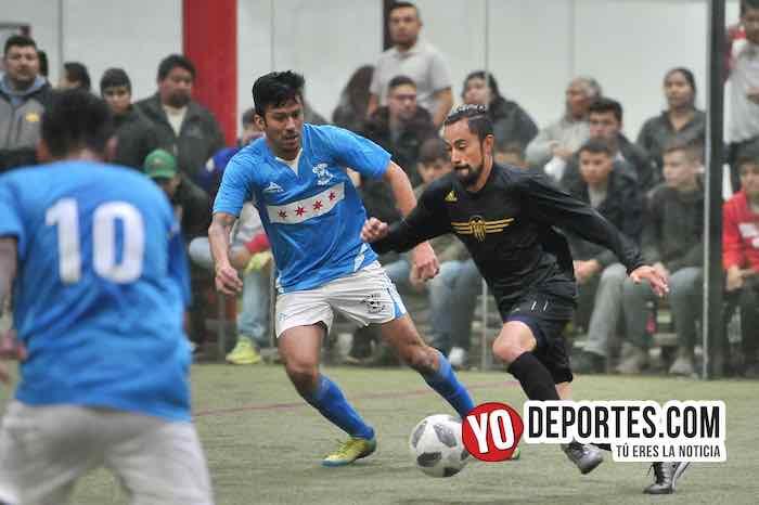 Armando Woody Sanchez-Chicago Soccer-Valencia-Champions Liga Latinoamericana-Indoor