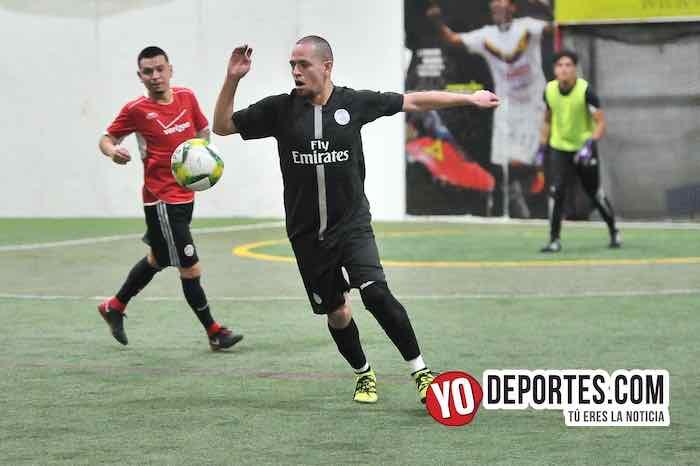 Azteca de Oro-Chicago Cougars-Liga 5 de Mayo Futbol Soccer Indoor