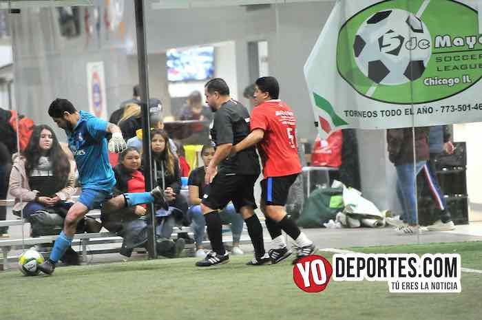 Azteca de Oro-Chicago Cougars-Liga 5 de Mayo Indoor soccer futbol