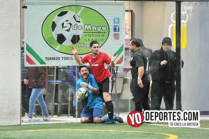 Azteca de Oro brilla ante los Chicago Cougars en la Liga 5 de Mayo