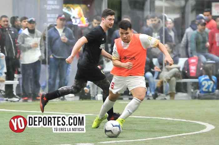 Boca Jr-Sahuayo-Champions Liga Latinoamericana Chicago Indoor Sports