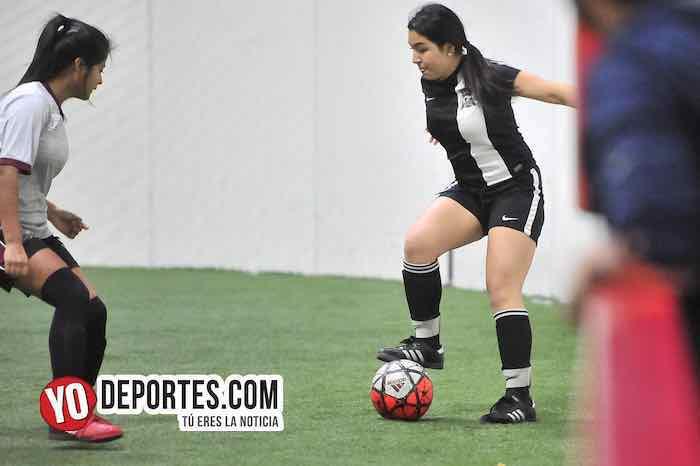 Chicago Real FC-Fenix FC-AKD Soccer League futbol femenil high school