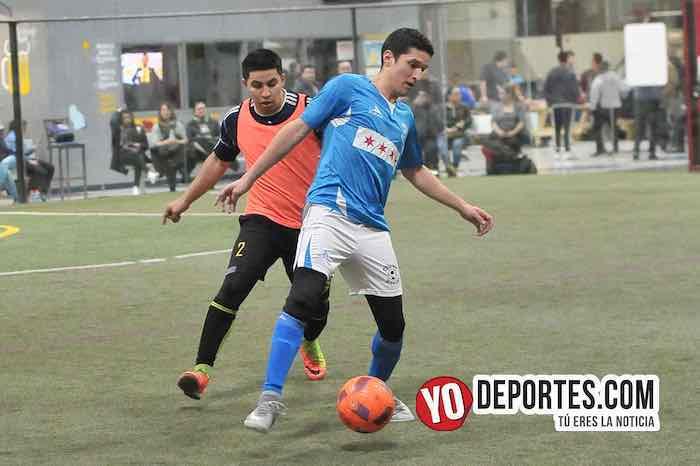 Chicago Soccer-Sahuayo-Champions Liga Latinoamericana Indoor Futbol