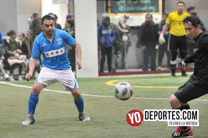 Chicago Soccer-Valencia-Champions Liga Latinoamericana Soccer Indoor