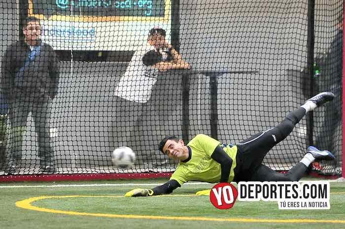 Chicago Soccer-Valencia-Champions Liga Latinoamericana portero