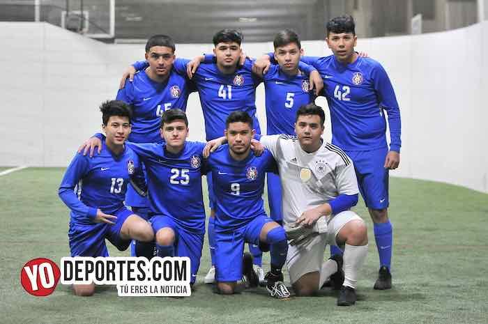 Cayó el Deportivo Azul del tercer lugar en la 5 de Mayo