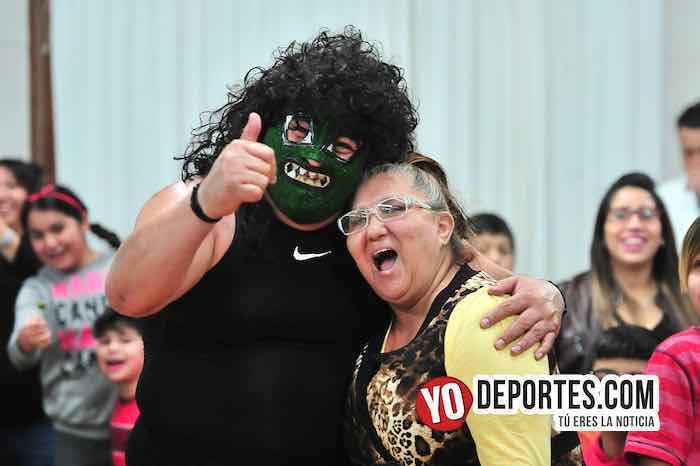 El Espectro vino a perder a Chicago Lucha Libre Total
