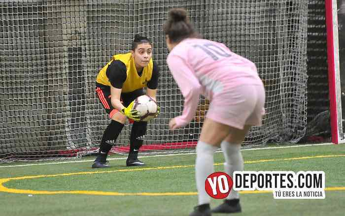 Fenix FC-CD Angeles-AKD Soccer League Femenil