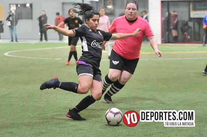 Fenix FC-CD Angeles-AKD Soccer League Futbol femenino