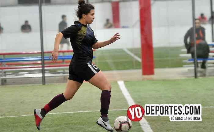 Fenix FC-CD Angeles-AKD Soccer League Mujeres Futbolistas