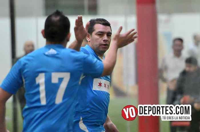 Chicago Soccer gana al Valencia con goles del Tinieblas y el Woody Sánchez