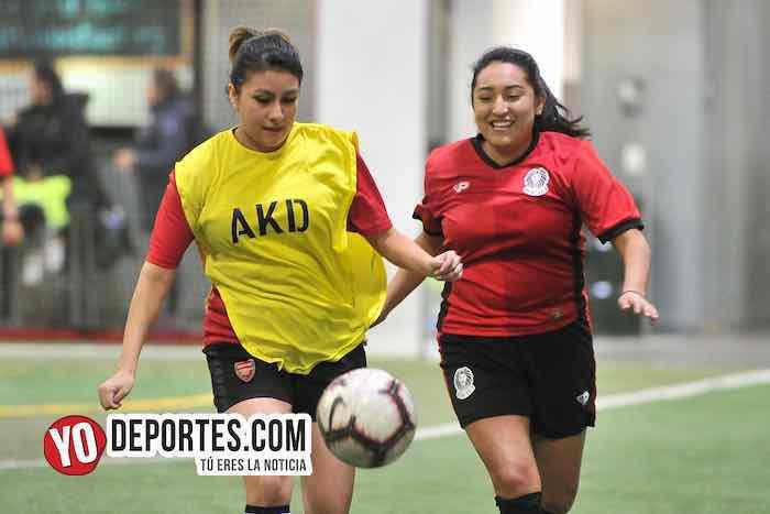 Juventus gana el clásico femenil de Chicago en AKD Soccer Legue
