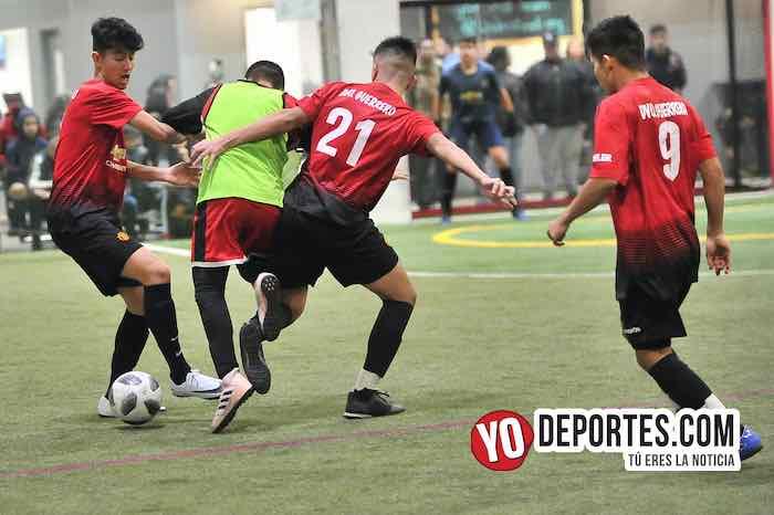 La Joya-Deportivo Guerrero-Chamoions Jrs Liga Latinoamericana Chicago futbol indoor