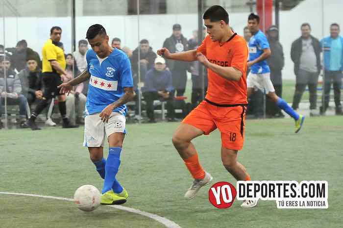 Luis Alonso El Negro Sandoval-Chicago Soccer-Red Fire-Champions Liga Latinoamericana