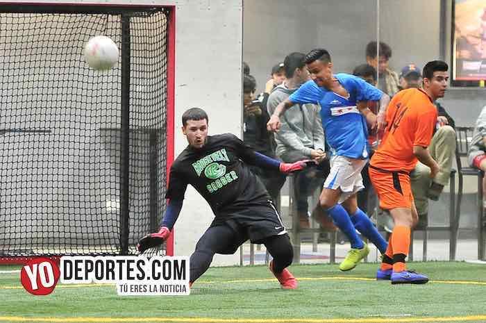 Luis El Negro Sandoval-Chicago Soccer-Red Fire-Champions Liga Latinoamericana Soccer League