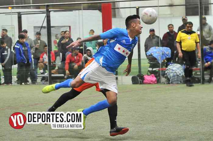 Luis El Negro Sandoval-Chicago Soccer-Red Fire-Champions Liga Latinoamericana