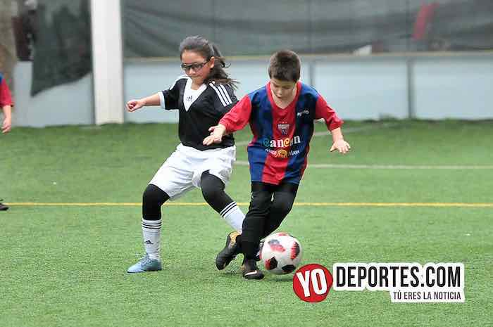 Manchester-Atlante-Liga Douglas Indoor soccer