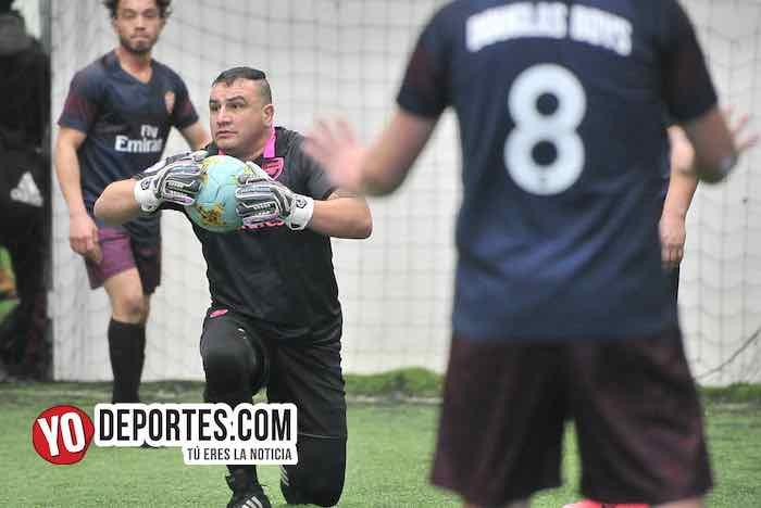 Ganaron los Douglas Boys con goles de Rudy Lara y Dagoberto Girón