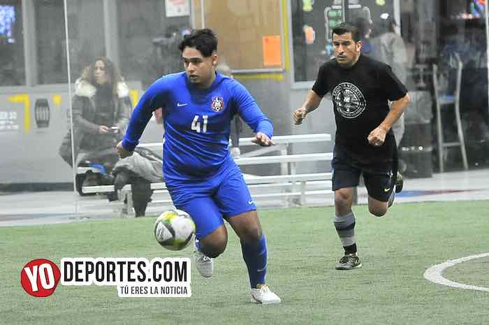 New City-Deportivo Azul-Liga 5 de Mayo Indoor Soccer