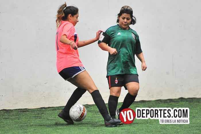 Nightmare-Chivas-AKD Soccer League Femenil Chicago soccer indoor