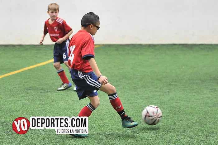 River Plate-Santitos-Liga Douglas Kids Chicago Sports Complex indoor