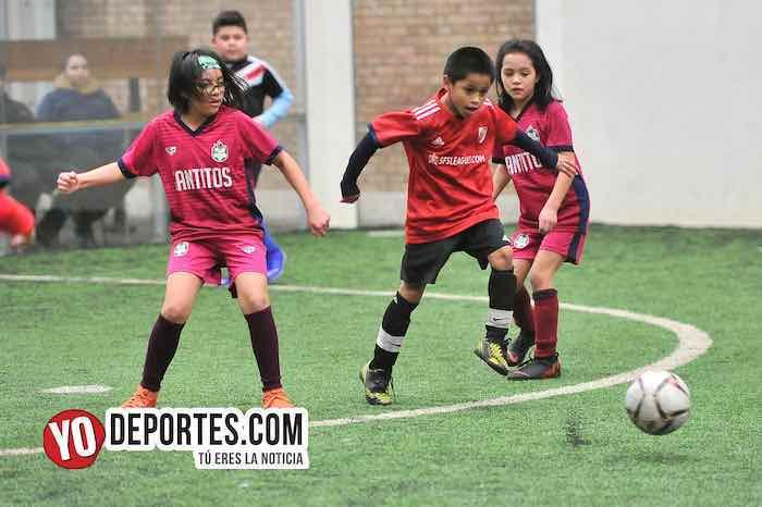 River Plate-Santitos-Liga Douglas Kids Chicago Sports Complex