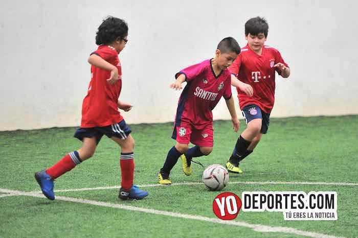 River Plate-Santitos-Liga Douglas Kids Indoor Soccer
