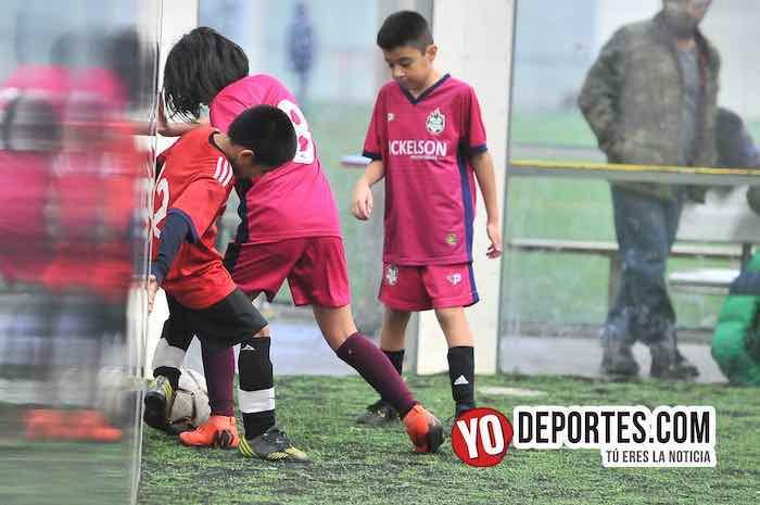 River Plate-Santitos-Liga Douglas Kids Soccer Indoor Futbol