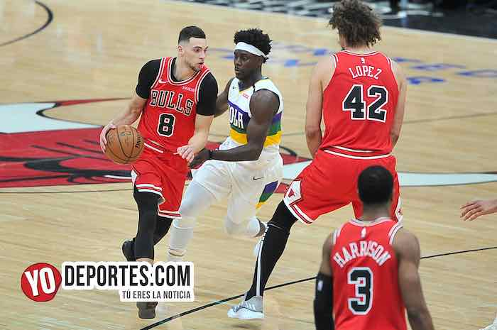 Zach LaVine-Chicago Bulls-New Orleans Pelicans