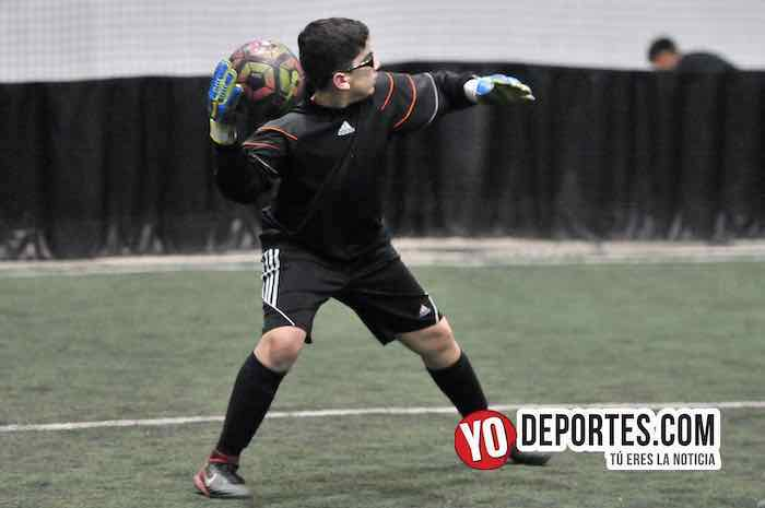 Aguilas-Black Lions-Liga Guerrerense-Rauner Family YMCA Chicago indoor soccer