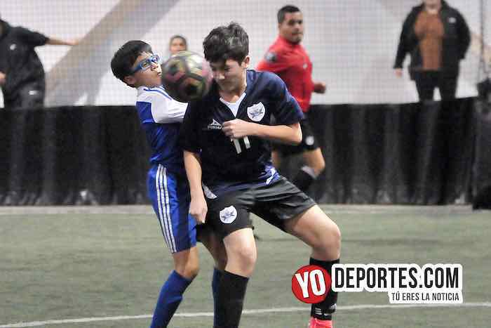 Aguilas-Black Lions-Liga Guerrerense-Rauner Family YMCA Chicago soccer indoor