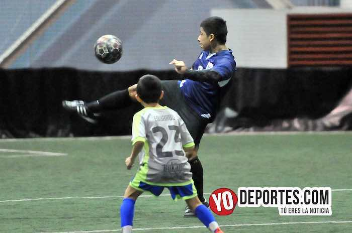Aguilas-Chicago Allstars-Liga Guerrerense playoffs indoor YMCA Rauner Famili Center