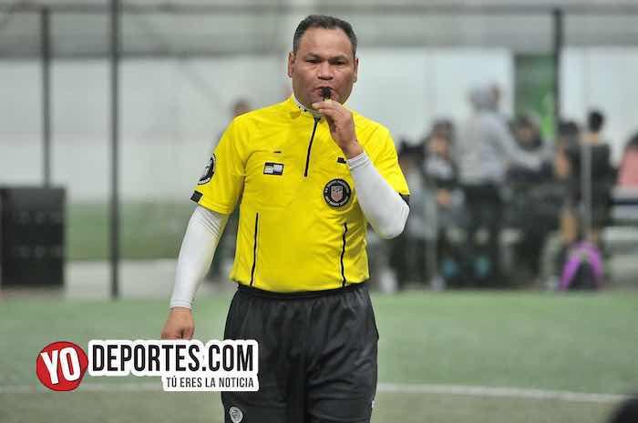 Arbitro Armando Ortega-Coyotes de Chicago-Challenger-Liga 5 de Mayo