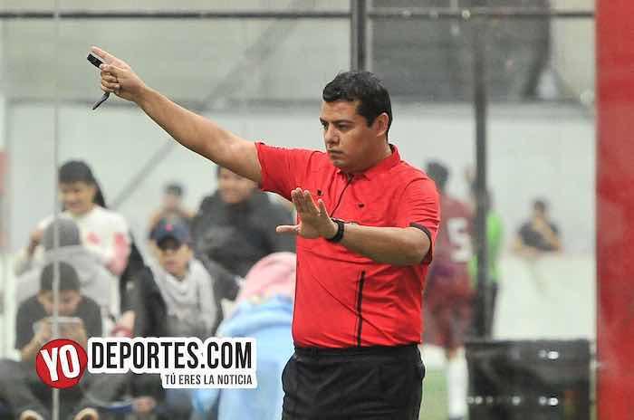 Arbitro Duardo Cruz-Hidalgo Veracruz-Osos FC-Liga 5 de Mayo