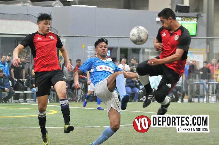 Chicago Soccer pone contra las cuerdas a los Aztecas en la Champions