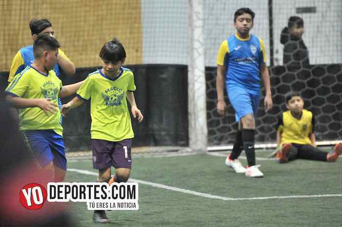 Atletic-Boca Jr-Liga Guerrerense-Rauner Family Chicago YMCA Indoor soccer