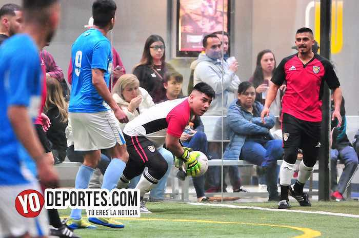 Chicago Soccer-Aztecas Fire-Champions Liga Latinoamericana futbol indoor