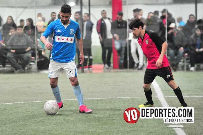Chicago Soccer-Aztecas Fire-Champions Liga Latinoamericana indoor soccer