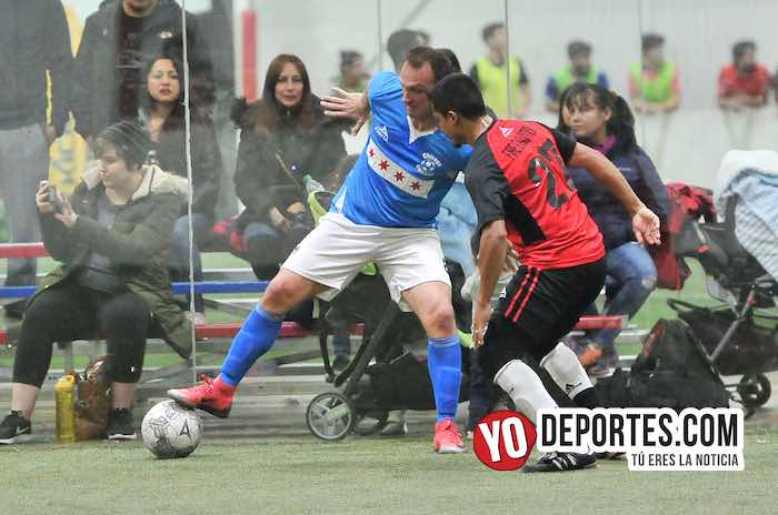 Chicago Soccer-Aztecas Fire-Champions Liga Latinoamericana juego de ida