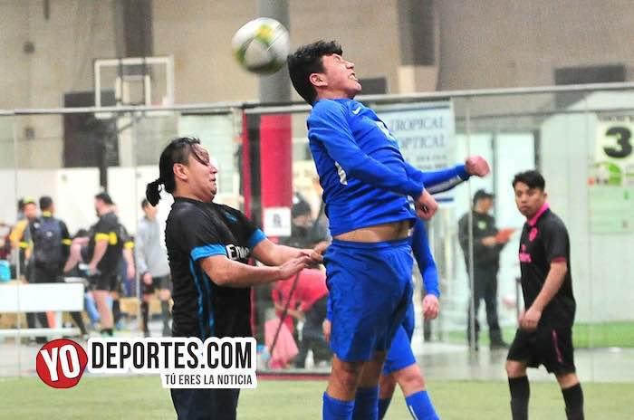 Deportivo Azul-Arsenal-Liga 5 de Mayo indoor soccer