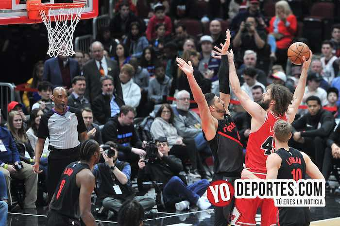 Doble derrota para los Bulls pierden a Laurie Markkanen y contra Portland Blazers