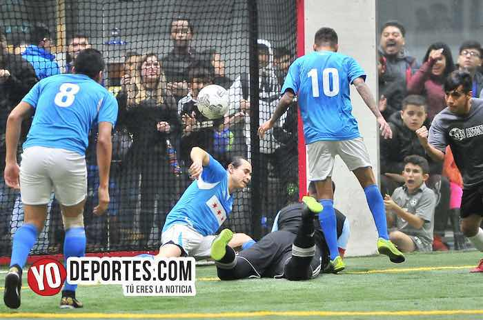 Empatados Chicago Soccer-San Antonio-Champions Liga Latinoamericana