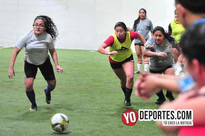 Fire-Tigres-Liga 5 de Mayo Femenil Chicago Indoor Sports