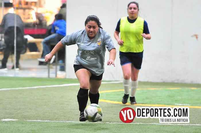 Fire-Tigres-Liga 5 de Mayo Femenil Chicago