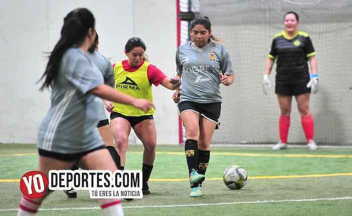 Fire-Tigres-Liga 5 de Mayo Femenil