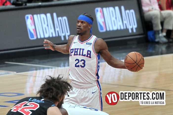 Jimmy Butler-Chicago Bulls-Philadelphia 76ers-United Center