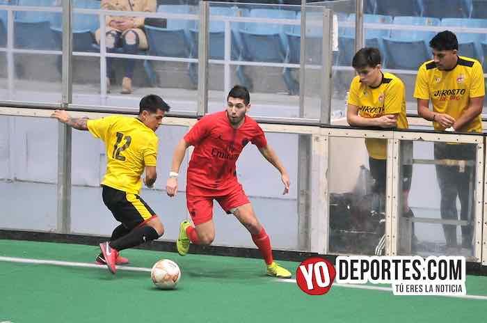 Jirosto del Oro-Tilza Morelos-Hispano Soccer League