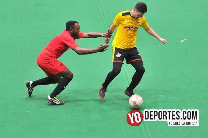 Jirosto del Oro-Tilza Morelos-Hispano Soccer League juego de vuelta